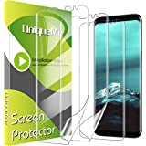 [3 Pack] UniqueMe Screen Protector for Samsung Galaxy S8,TPU Clear Soft Film [ Case Friendly] Touch Sensitive