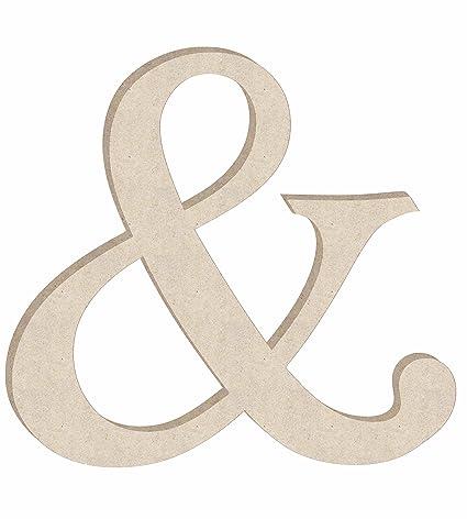 24 monotype unfinished wood letter monogram symbol sizes