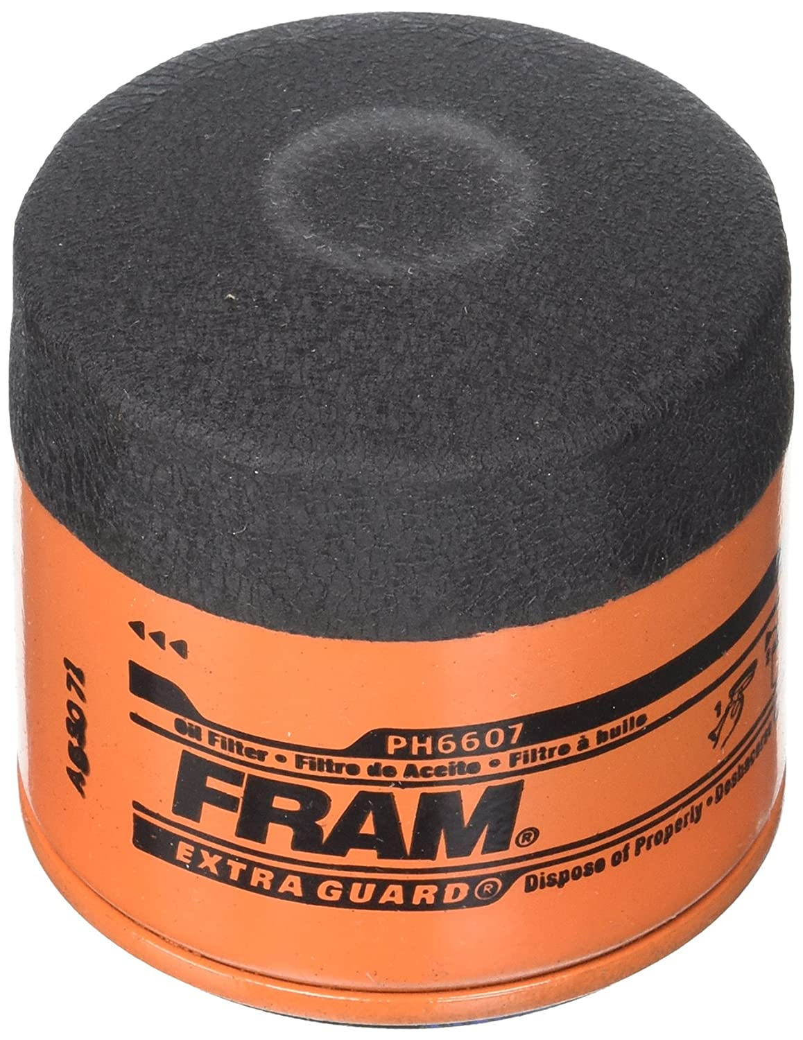 FRAM PH6607 Extra Guard Passenger Car Spin-On Oil Filter Fram Group
