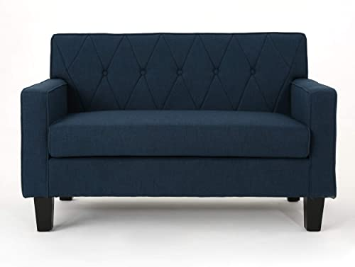 Reviewed: Christopher Knight Home Maisie Button Stitch Fabric Loveseat