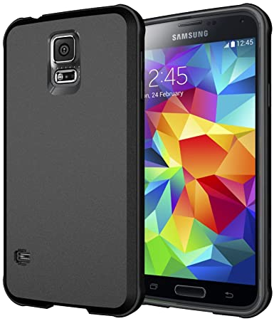 best website e4154 86f8e Diztronic Matte Back Ultra TPU Case for Samsung Galaxy S5 (Black) Matte  Back Ultra (Black)