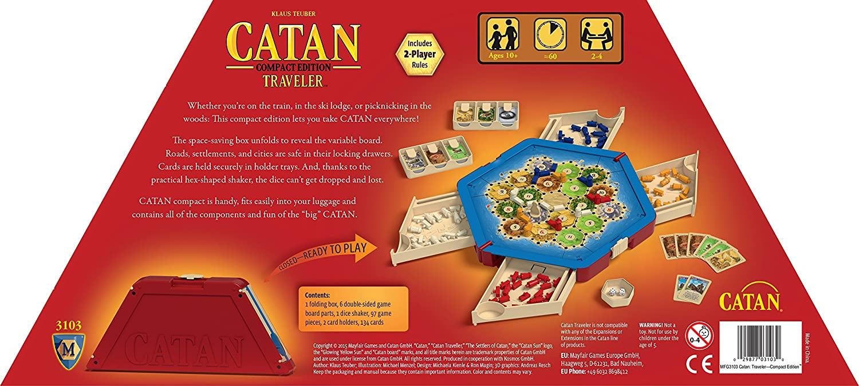 Mayfair Catan: Traveler Edition: Amazon.es: Juguetes y juegos