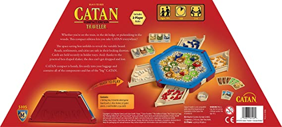 Mayfair Catan: Traveler Edition: Amazon.es: Juguetes y juegos