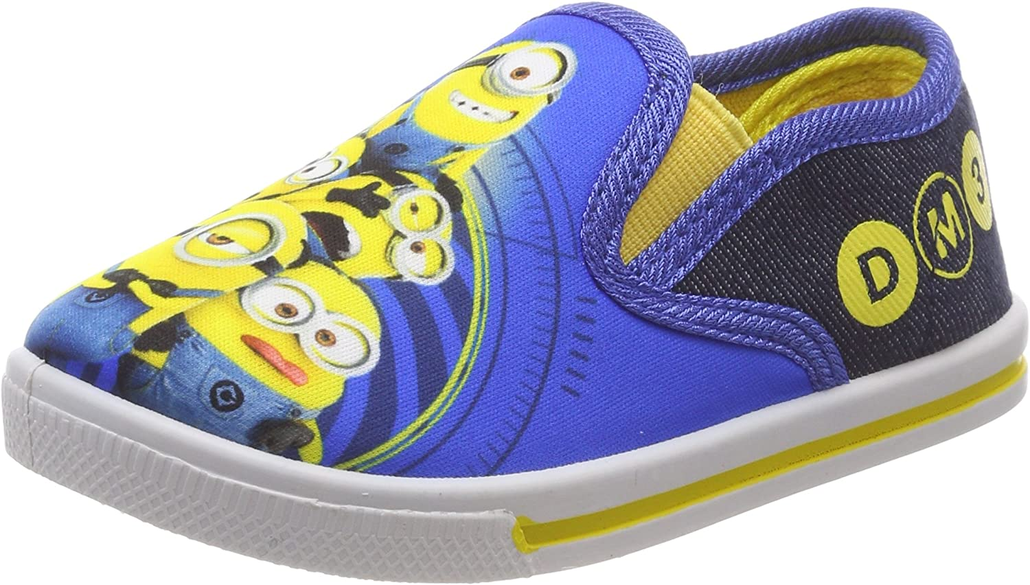 Minions Boys Kids Slipon Sneakers Slip on Trainers
