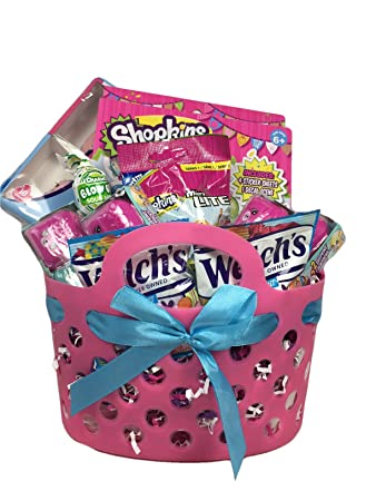 Amazon small shopkins easter gift basket with candy 12 small shopkins easter gift basket with candy 12 items season 5 negle Image collections