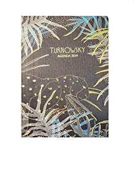 Agenda diaria turnowsky 2019 12 meses 16 x 11 cm: Amazon.es ...