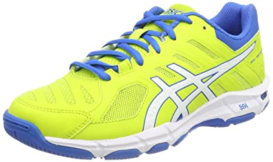 f953dd9af8ff ASICS Herren Gel-Beyond 5 Hallenschuhe, Grün (Energy Green White Electric