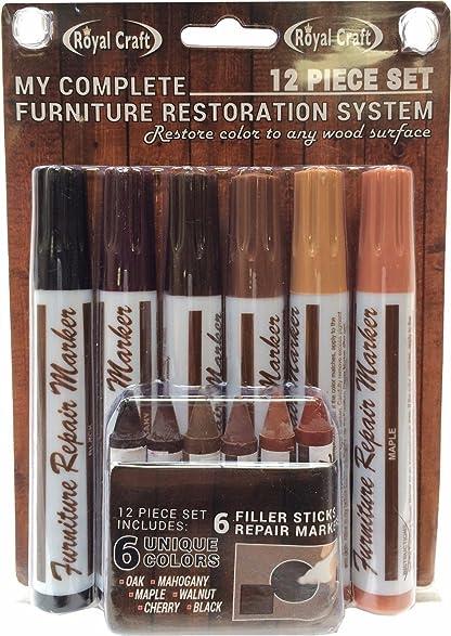 Amazon Com 12 Piece Furniture Repair System Restore Scratched