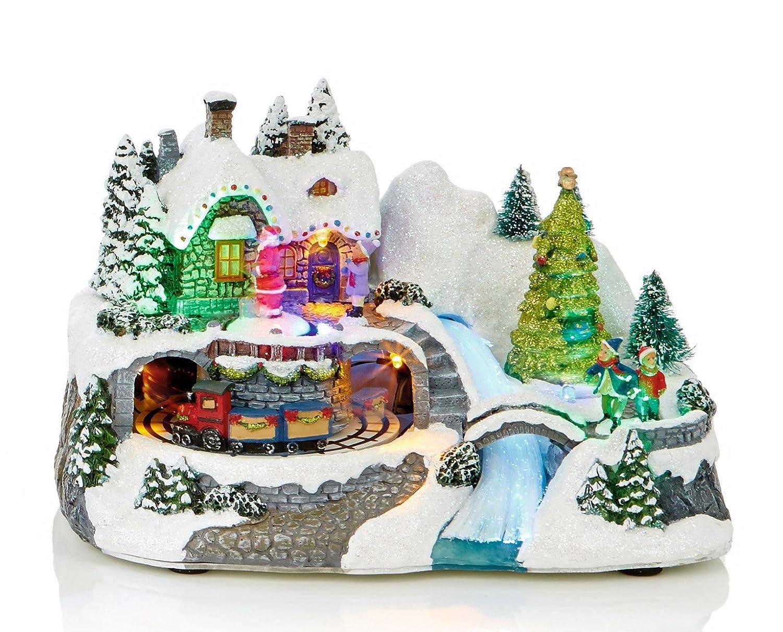 Life Is Good Large LED Light Up Christmas Animated