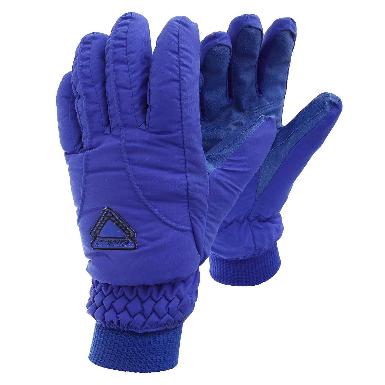 Herren Thermo Ski-Handschuhe / Thermo-Handschuhe, gefüttert, wasserfest (X-Large) (Kobaltblau)