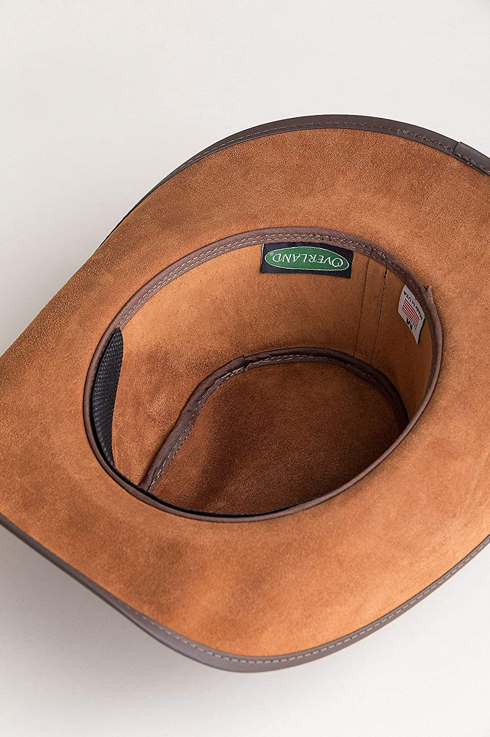 fa8c80bf0fb Cyclone Leather Cowboy Hat with Buffalo Nickels at Amazon Men s Clothing  store