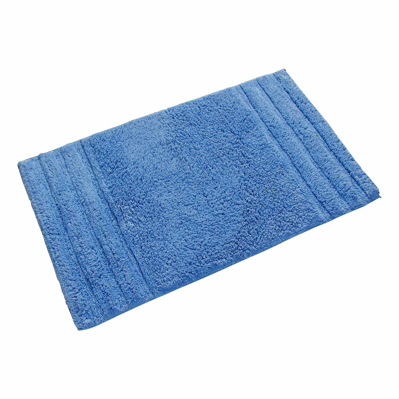 Homescapes Spa Supreme Bath Mat 50x 80cm and Toilet Mat 50x 55100% Pure Cotton 2Piece Bath Mat Set Chocolate Others