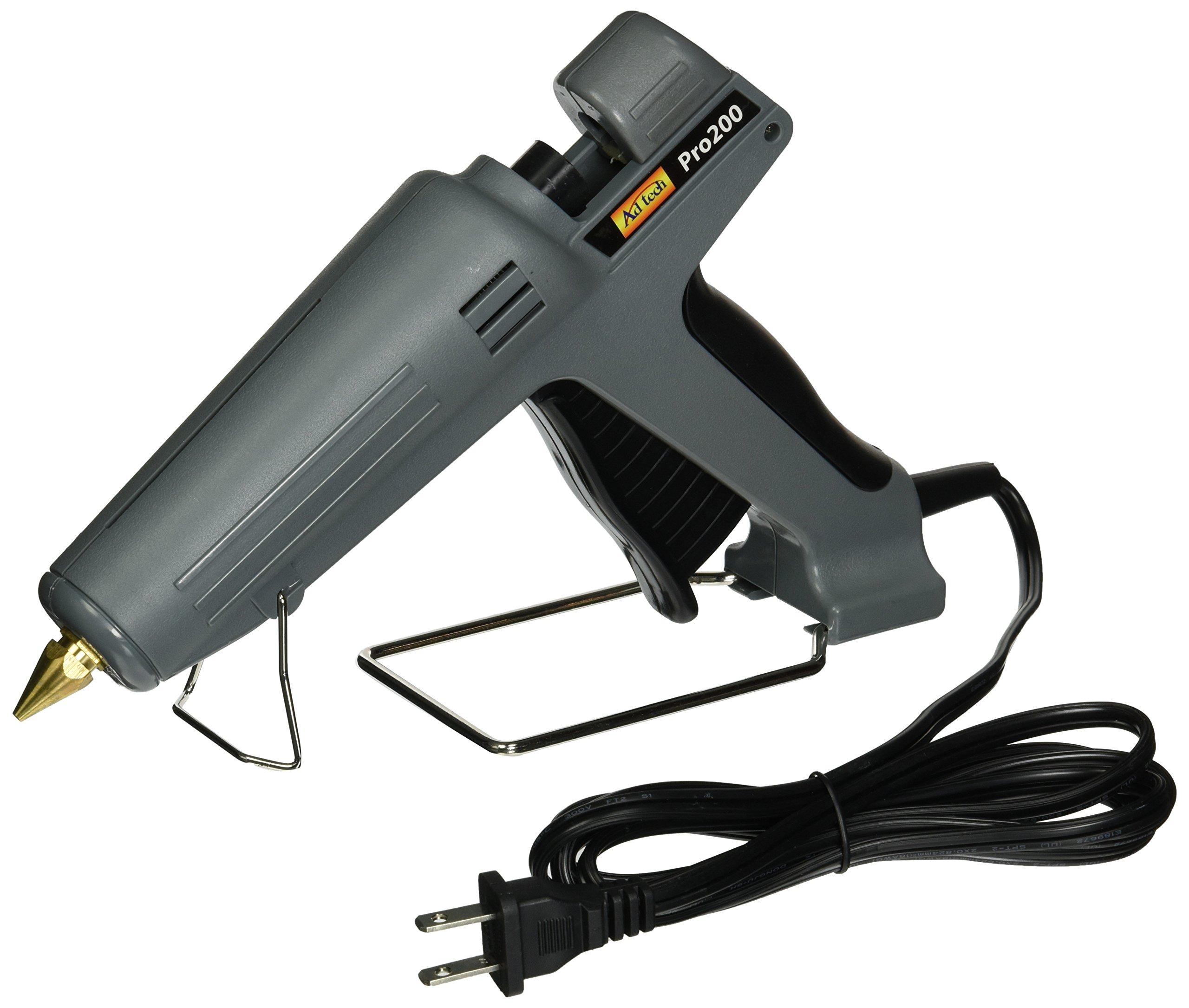 AdTech 0189 Pro 200 Industrial Hot Glue Gun, Full Size Heavy Duty, 200 watts by Ad-Tech