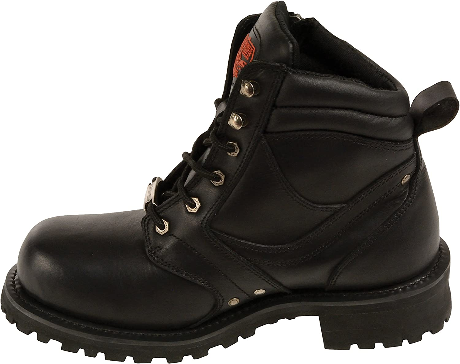 Milwaukee Men\'s Boots with Zip And Laces (Black, Size 13) 818U2BLRiMELSL1500_