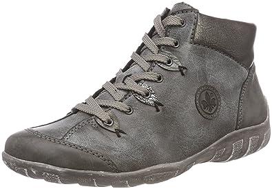 langlebig im einsatz schnüren in dauerhafte Modellierung Rieker Damen L6513 Stiefel
