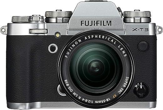 Fujifilm, systeemcamera, XF18-55mmF2.8-4 R LM OIS Kit, zilver, Kit