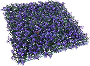 """TANG by Sunshades Depot Artificial Lavender Fence Privacy Screen Evergreen Hedge Panels Fake Plant Wall 20""""x20"""" inch (6pcs)"""