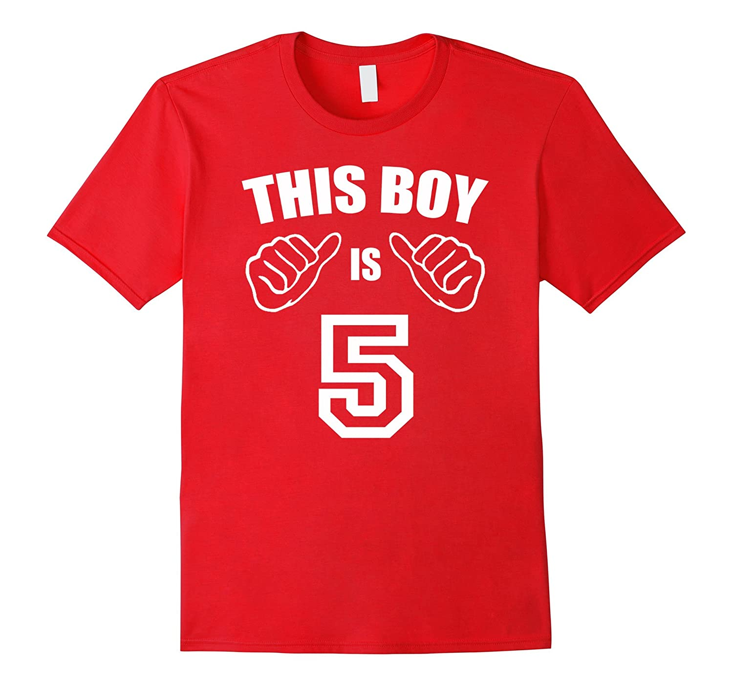 5 Year Old Shirt For Boy Kid 5th Birthday Gift Idea 2012 PL Polozatee