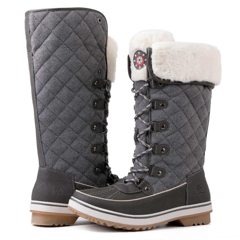 Global Win GLOBALWIN Women's 1730 Winter Snow Boots B07665BM53 8.5 B(M) US 1739grey