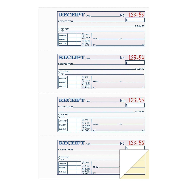 Tops Carbonless Duplicate 200-Set Rent/Money Receipt Book (46806)