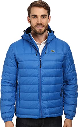 88bd037b7 Image Unavailable. Image not available for. Color  Lacoste Men s Packable  Down Jacket ...