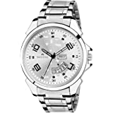 Swisstone Analogue Silver Dial Men's Watch - Sw-Wt085Slv-Ch