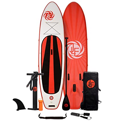 Amazon.com   JLF 11 ft Inflatable Stand Up Paddle Board (SUP ... 01e7c6ae5