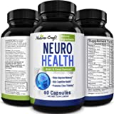 Nootropics Brain Supplement Support - Memory Booster for Mind Focus Reduce Anxiety - DMAE Pills for Concentration Improve Bra