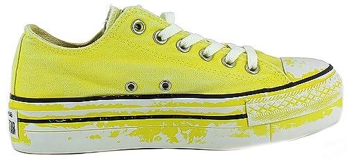 converse platform donna gialle