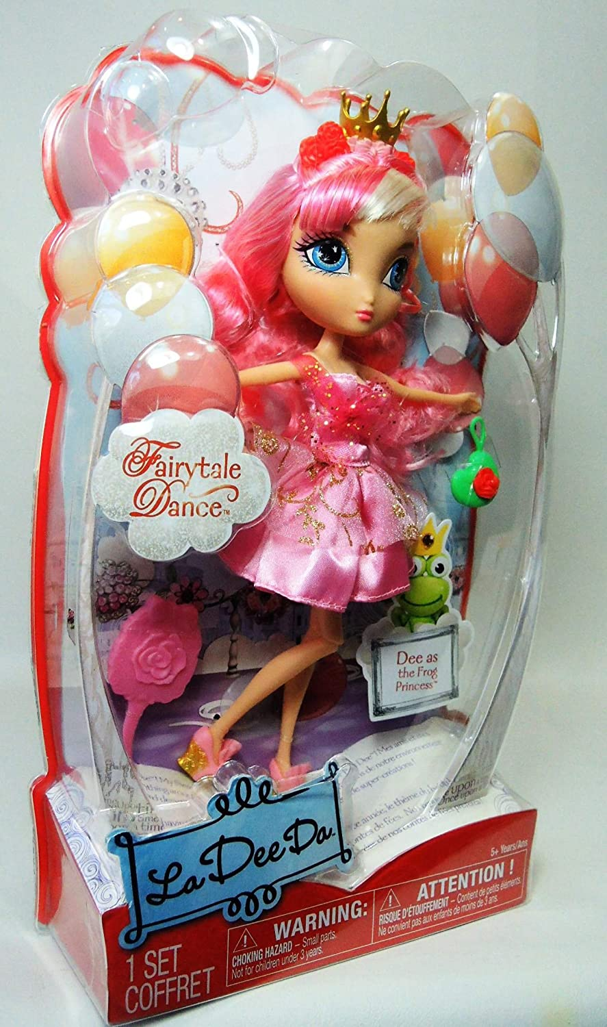 La Dee Da Doll Fairytale Dance Dee as Frog Princess Doll NEW NFRB Spin Master