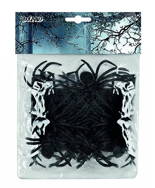 1 opinioni per Set 12 ragni finti (8 cm), nero