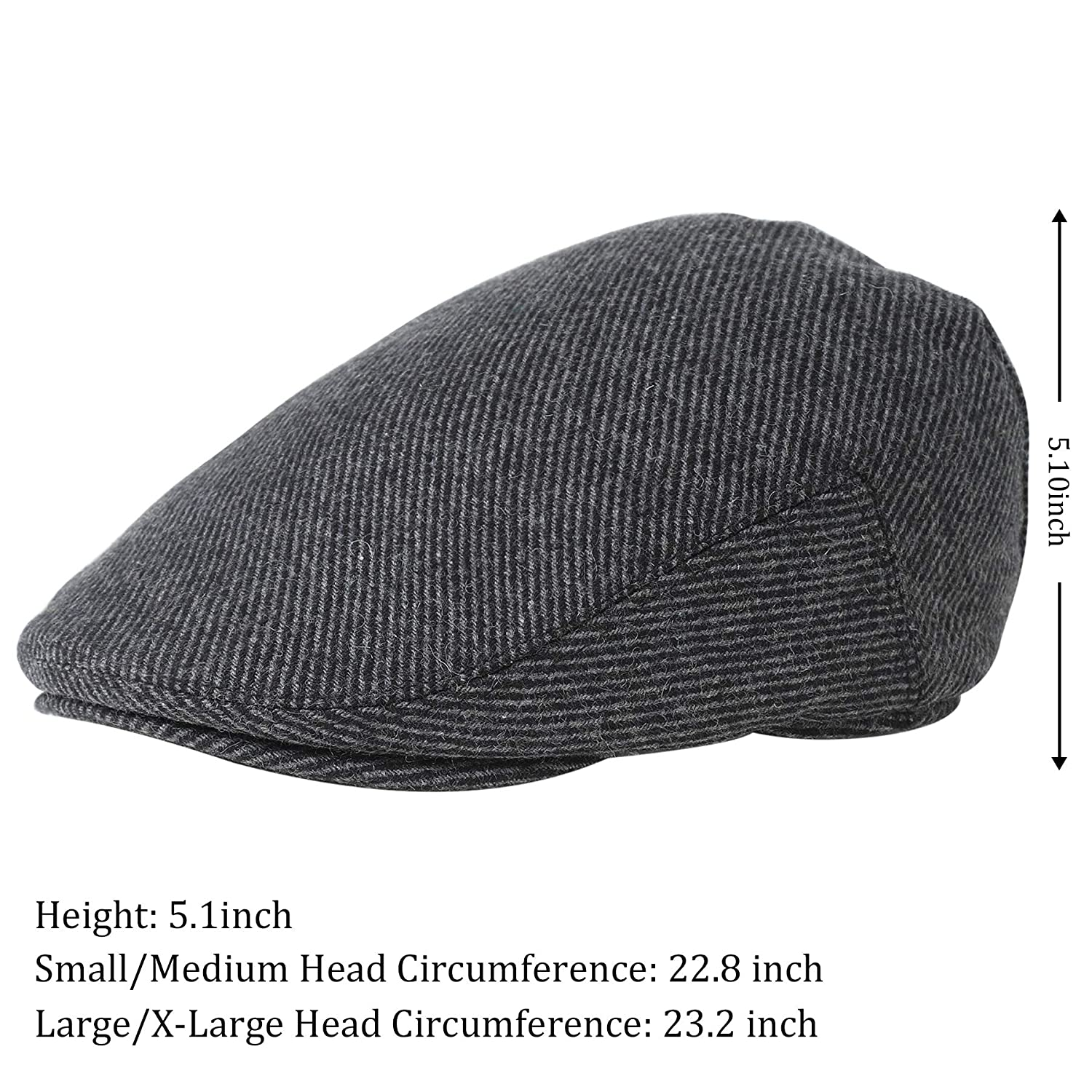 36fca39a84f1a BABEYOND 1920s Gatsby Newsboy Hat Cap for Men Gatsby Hat for Men 1920s Mens  Gatsby Costume Accessories at Amazon Women s Clothing store