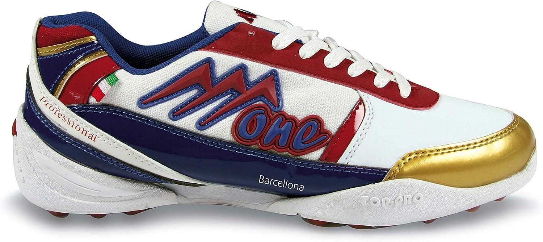 AGLA One Barcelona - Zapatillas técnicas Unisex para Adulto, Color Blanco, Talla 40: Amazon.es: Deportes y aire libre