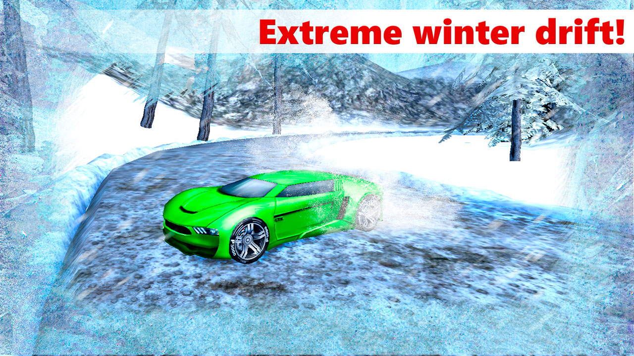 drift racing 3d winter ride appstore for android. Black Bedroom Furniture Sets. Home Design Ideas