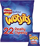 Walkers Wotsits Really Cheesy Snacks, 22 x 16.5 g
