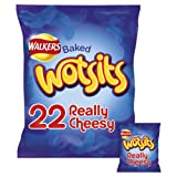 Walkers Wotsits Really Cheesy Snacks, 16.5g (22 Pack)