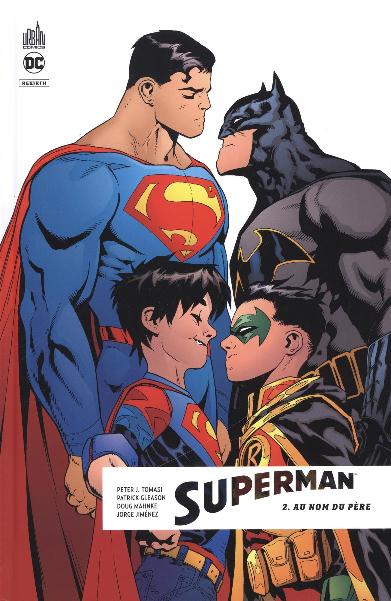 enfant superman batman