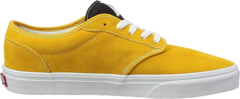 Vans Herren Atwood Suede Sneaker Gelb Retro Sport Kadmium Gelb Weiß W59