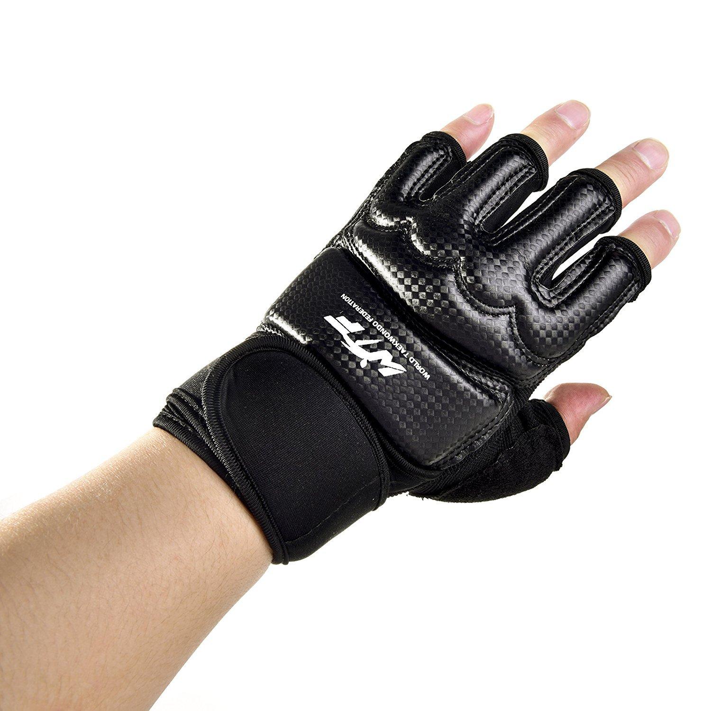5a30858e7d Amazon.com   Kickboxing Gloves Punch Bag Muay Thai Boxing Training  Fingerless Gloves for Men Women Children   Sports   Outdoors