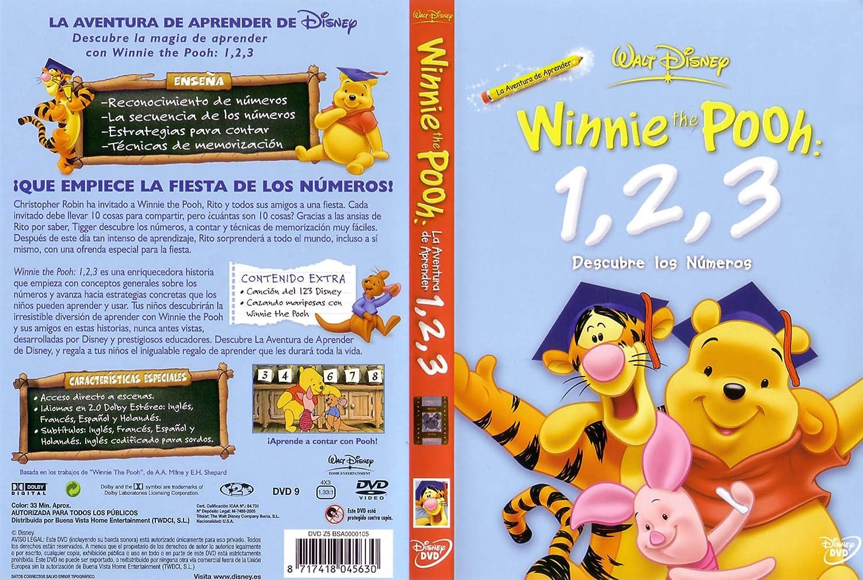 Amazon.com: Winnie The Pooh 1,2,3 Descubre Los Numer [Import espagnol]: Movies & TV