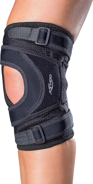 DonJoy Tru-Pull Lite Knee Support Brace: Left Leg, XX-Large