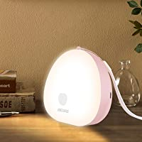 Night Light, Dimmable LED Night Lights, Portable Touch Control Beside Lamp with Rechargeable USB, 3 Colors LED Touch…