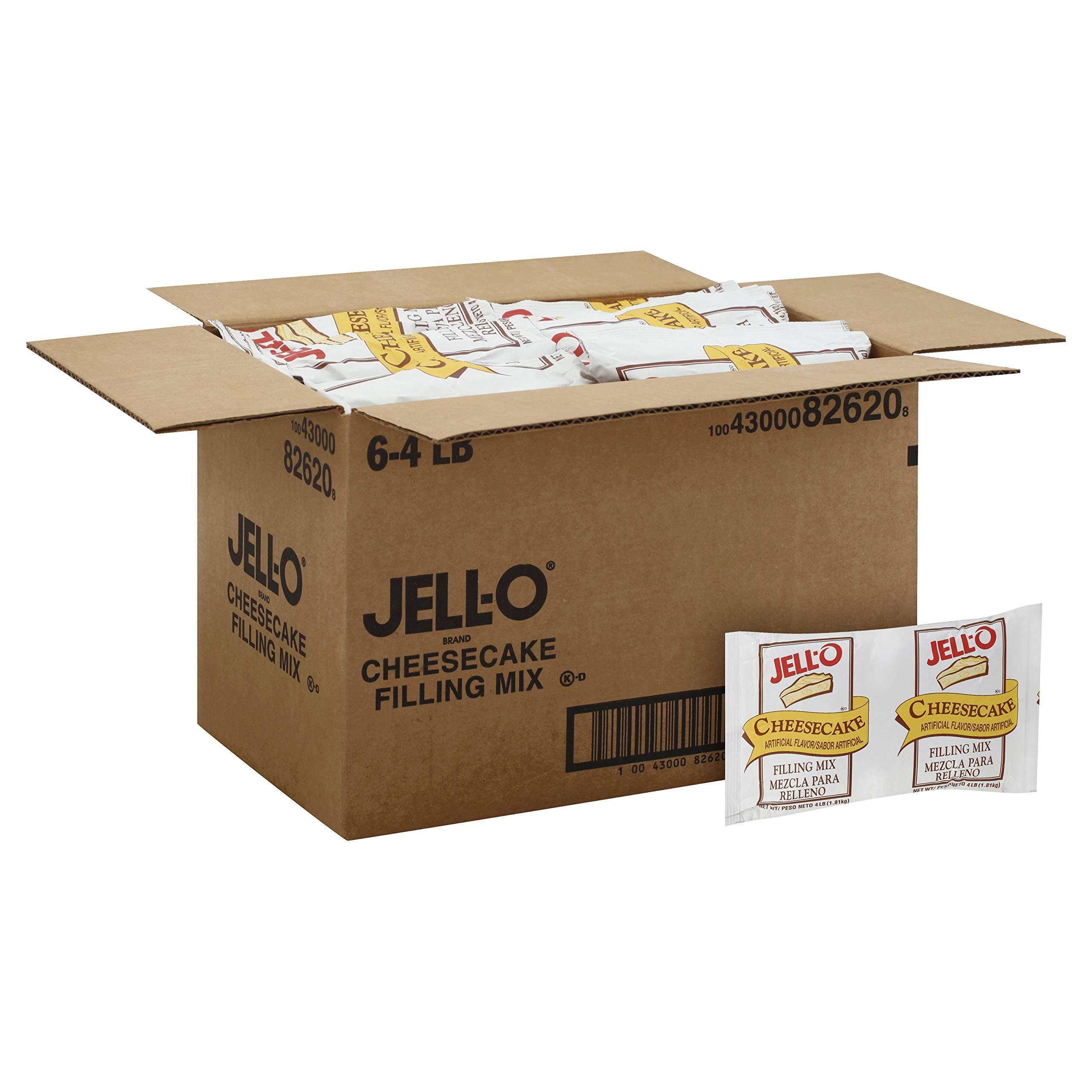 Mix Jello Cheesecake 6 Case 4 Pound