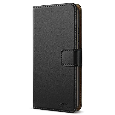outlet store 3dc34 5864b HOOMIL Honor 10 Case, Premium Leather Case for Huawei Honor 10 Phone Cover  (Black)