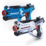 "Laser Tag Gun Gaming Set - ""Space Blaster Game"" Multi Player Laser Tag for Kids Toy with Deluxe 2 Pack Lazer Tag Gun Set"