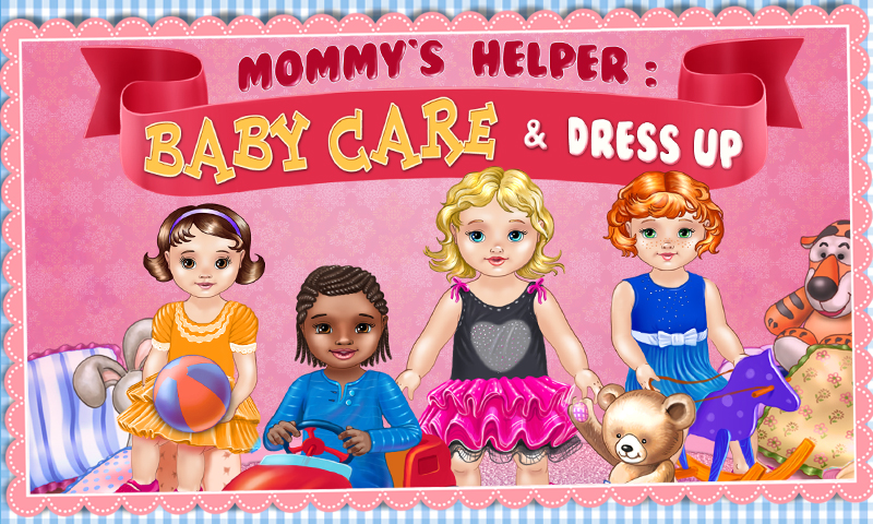 Baby Care & Dress Up - Play, Love and Have Fun with Babies