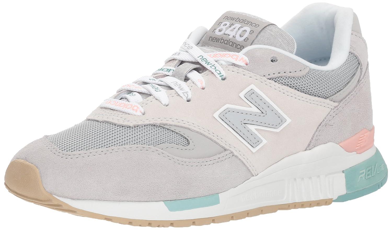 New Balance 840, Zapatillas para Mujer 40 EU|Marfil (Rain Cloud/Nimbus Cloud Rtn)