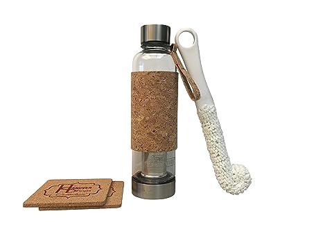 Amazon.com: Vaso de té urbano con infusor y tapas de acero ...