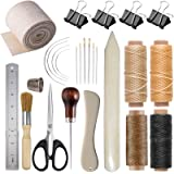 Bookbinding Kits, VENCINK Bookbinding Supplies Hand Book Binding Starter Tools Kit with Genuine Bone Folder Creaser…
