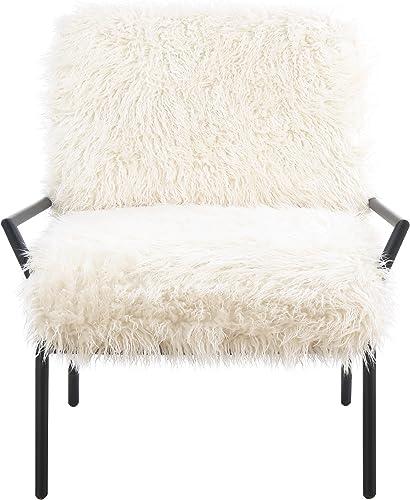 Artum Hill Chloe Accent Chair, alabaster white